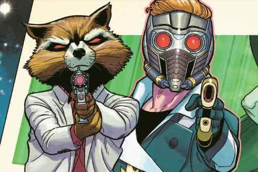 Los nuevos Guardianes de la Galaxia reunidos