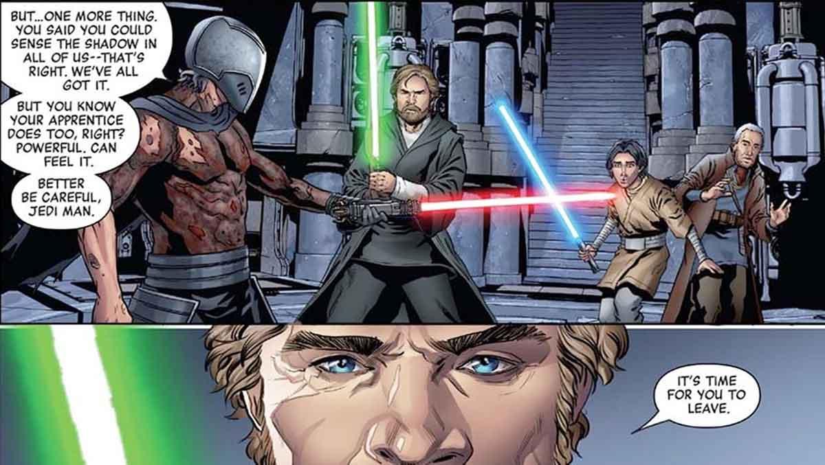 Star Wars revela como Kylo Ren conoció a los Caballeros de Ren