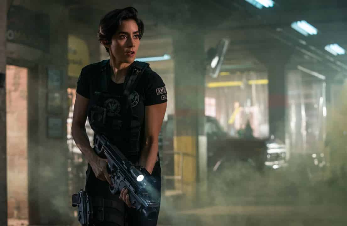 Paola Nuñez como Rita la nueva capitana de la policía en BB3