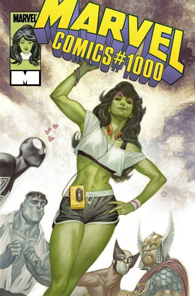 she-hulk cover Marvel #1000