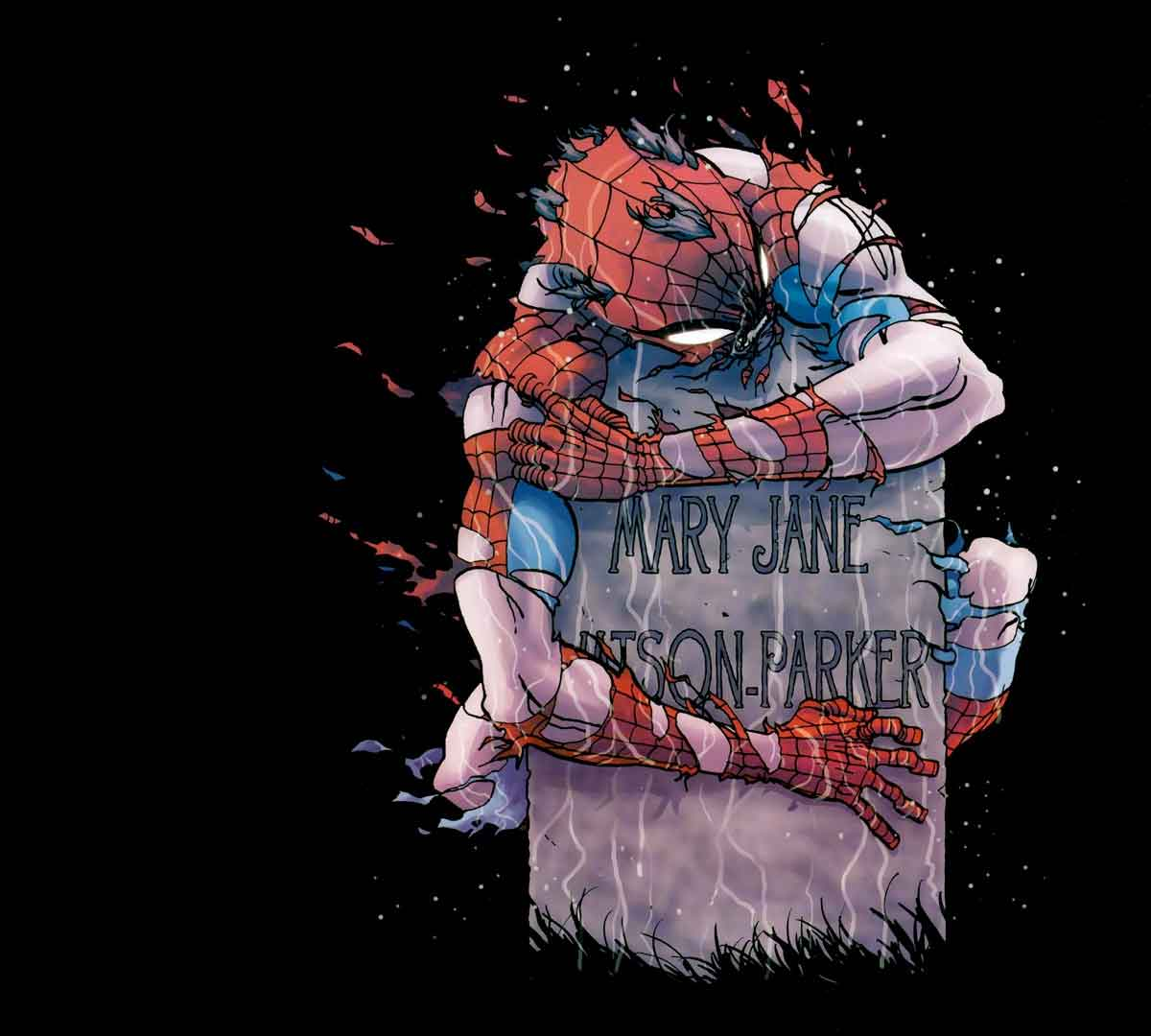 Spider-Man explora su oscuro futuro