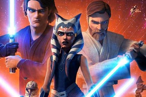 Póster temporada final de Star Wars: Clone Wars
