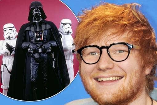 Star Wars: El ascenso de Skywalker. Se desveló el cameo de Ed Sheeran