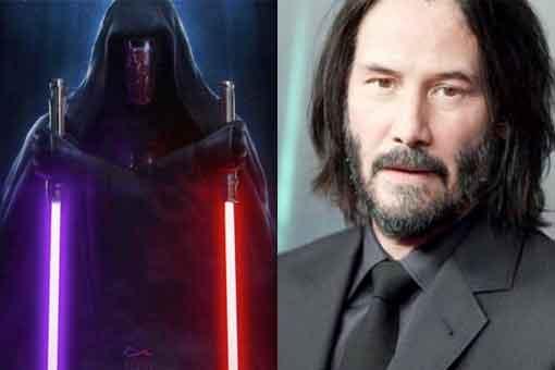 Especular Fan tráiler de Keanu Reeves como Darth Raven de Star Wars