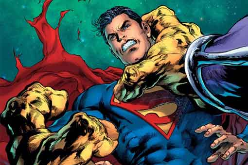 DC Comics presenta la brutal batalla de Superman contra Mongul