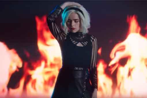 Provocativo videoclip promocional de Sabrina temporada 3 de Netflix