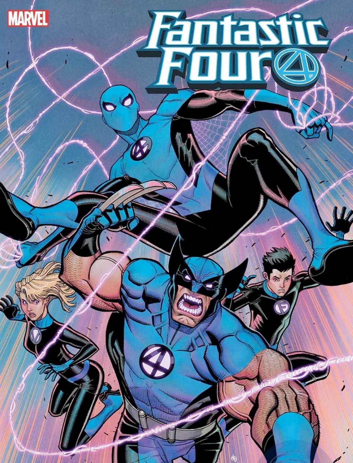 Wolverine y Spider-Man forman parte de los Cuatro Fantásticos