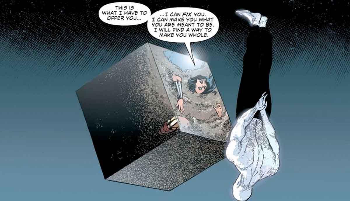Wonder Woman Hace Una Alianza Con El Peor Personaje De Dc Comics