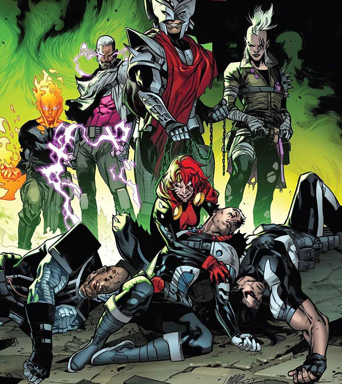 Reseña de X force 4 y 5 de Marvel Comics