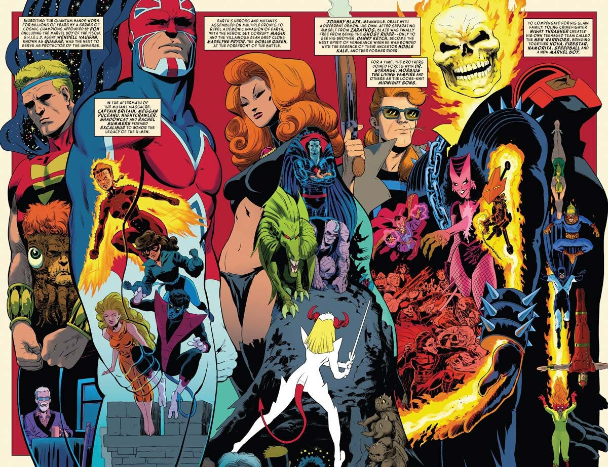 History of the Marvel Universe 4