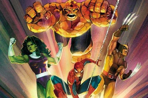 Marvel Comics 1001