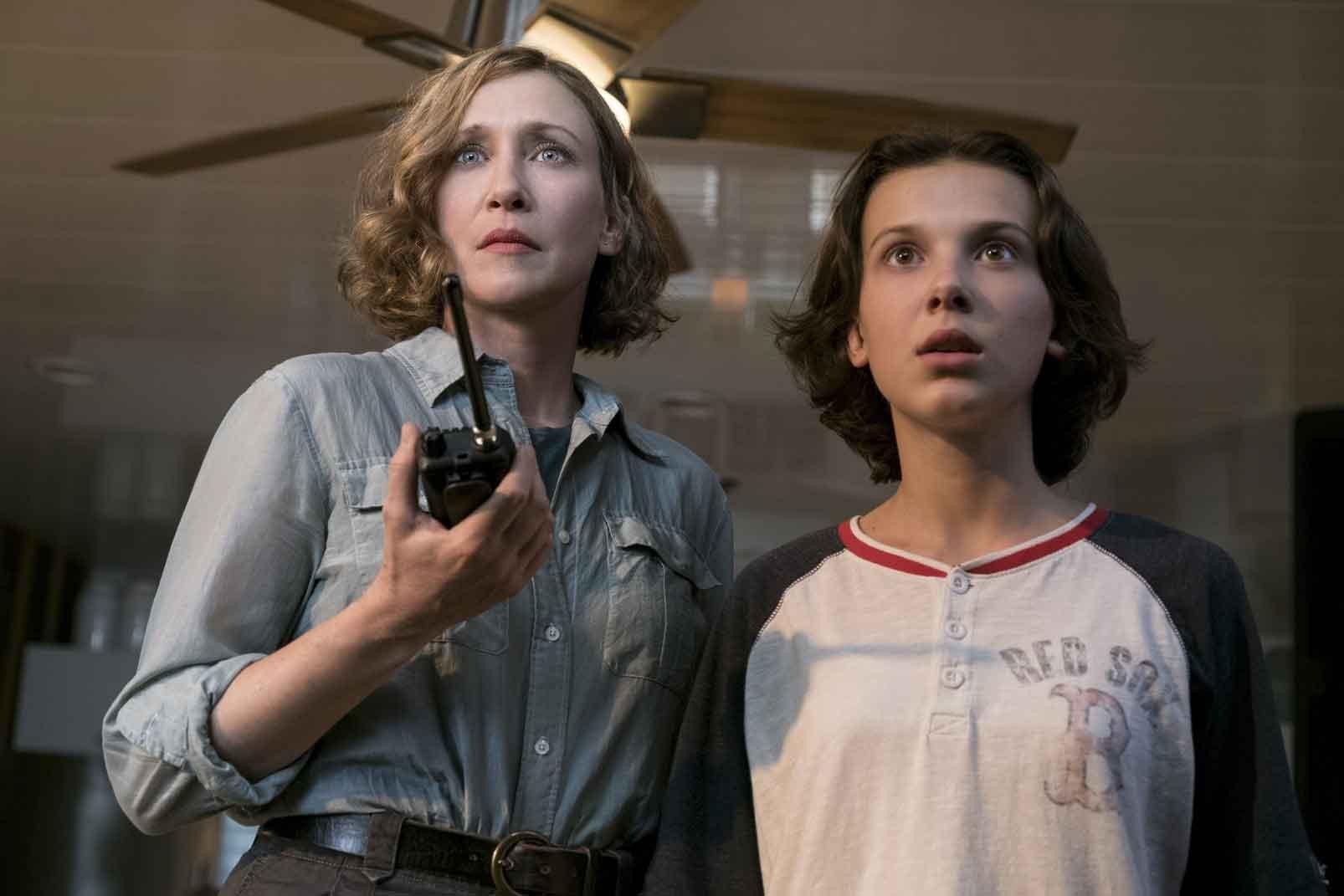 Millie Bobby Brown en un fotograma de la película