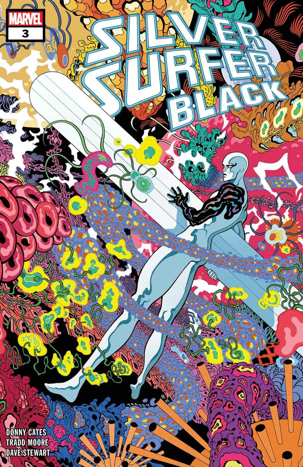 Estela plateada negro N3
