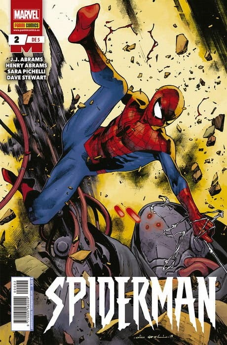 Spiderman nº 2 J.J. Abrams