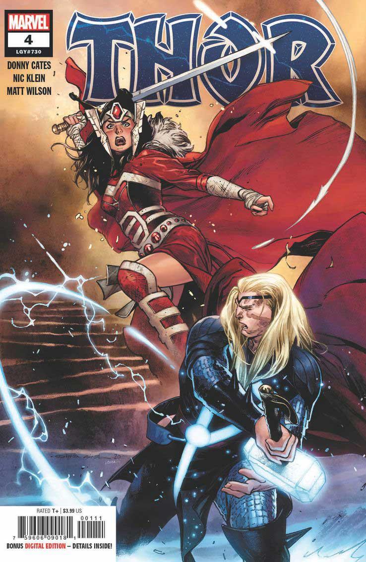 Portada de Thor Nº4