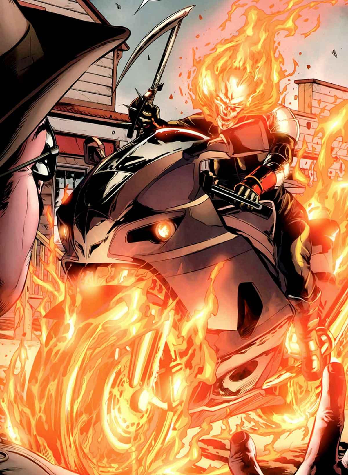 Ghost Rider de las películas de Marvel podría ser una mujer