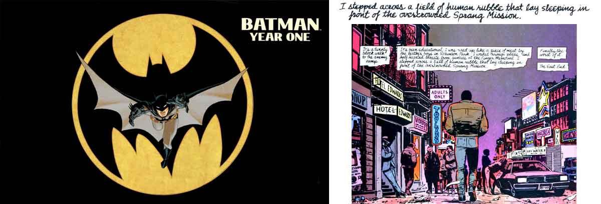 La película de The Batman podría estar inspirada en el cómic 'Año Uno'