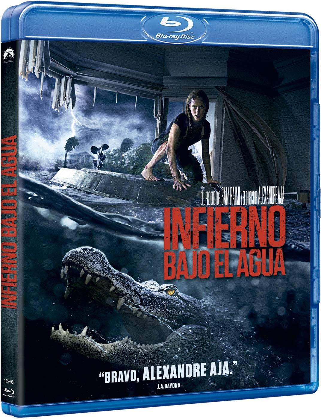 Blu-Ray Infierno bajo el agua