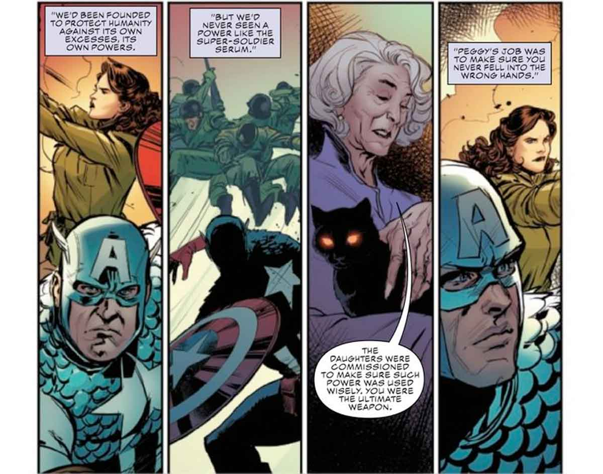 Capitán América cambia drásticamente su relación con Peggy Carter