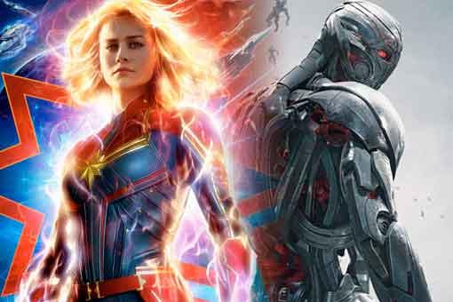 Capitana Marvel fue eliminada de la película Vengadores: La era de Ultron (2015)