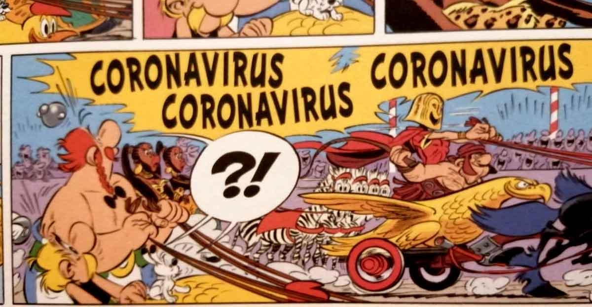 Asterix y Obelix ya anticiparon el Coronavirus