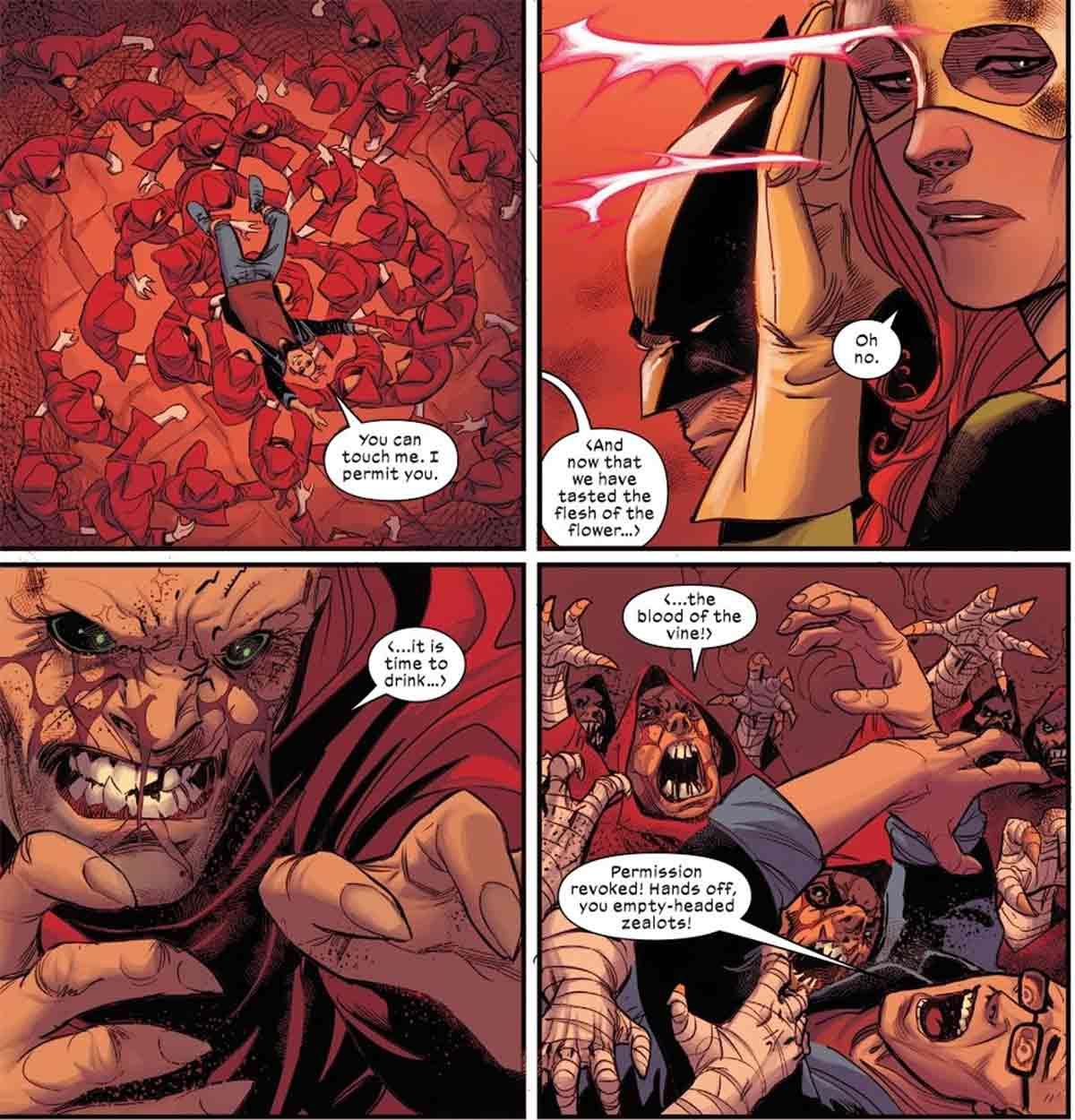 El mayor problema de los X-Men es que quieren comérselos