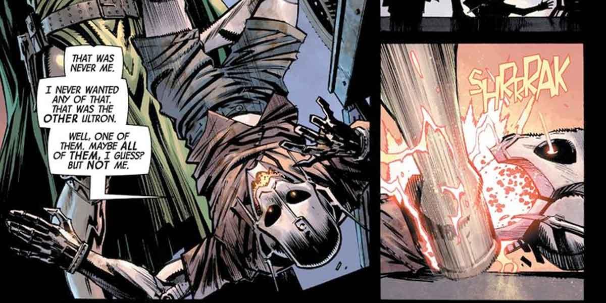 Doctor Doom acaba de asesinar a Ultron con un truco muy sucio
