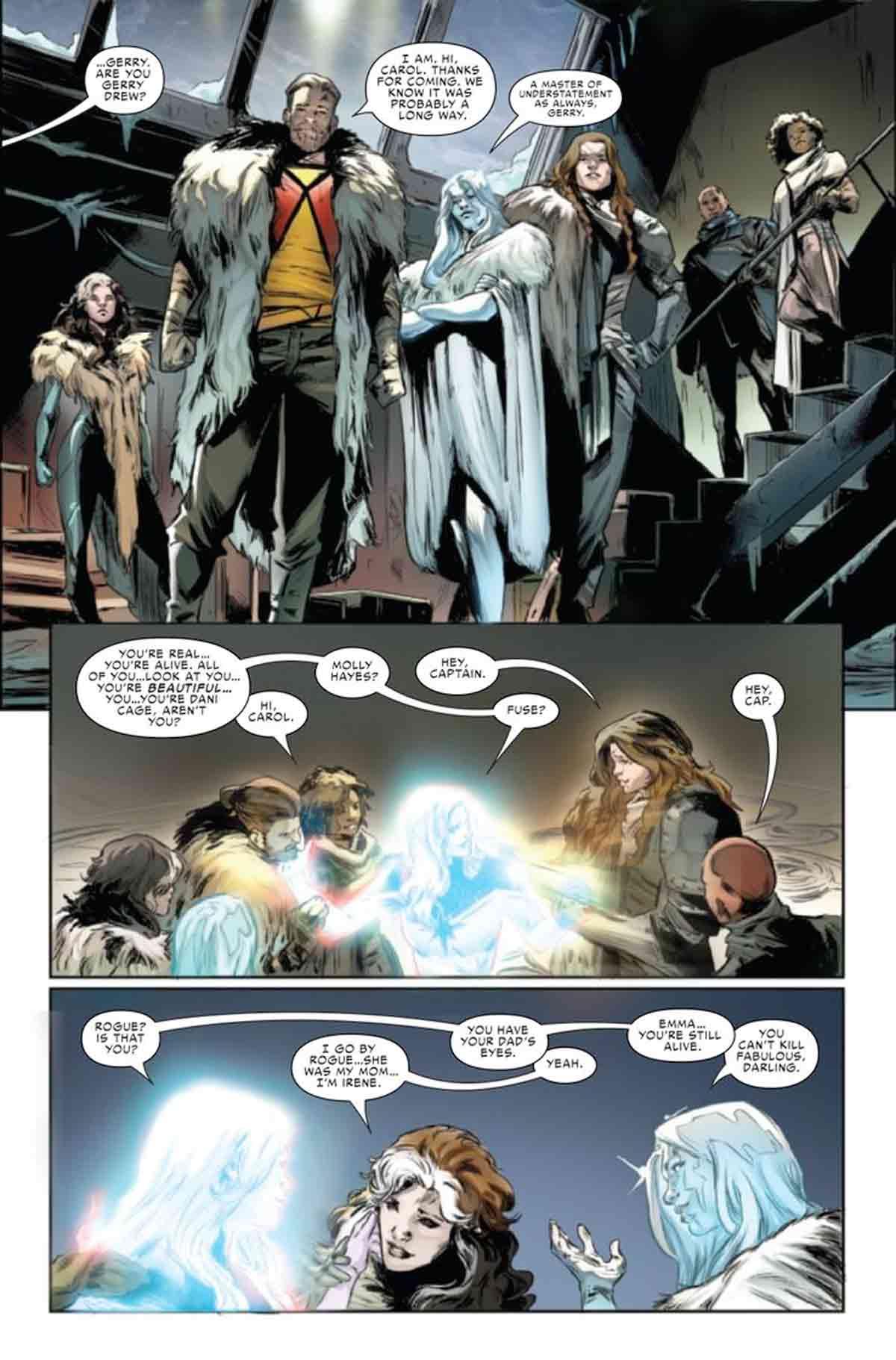 Marvel revela la identidad de la hija de Pícara y Gambito