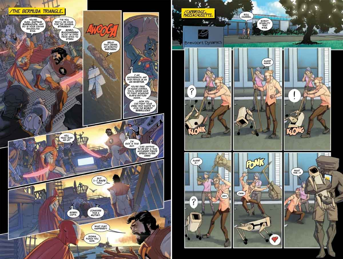 Iron Man y su ejército de robots ponen en peligro el Universo Marvel