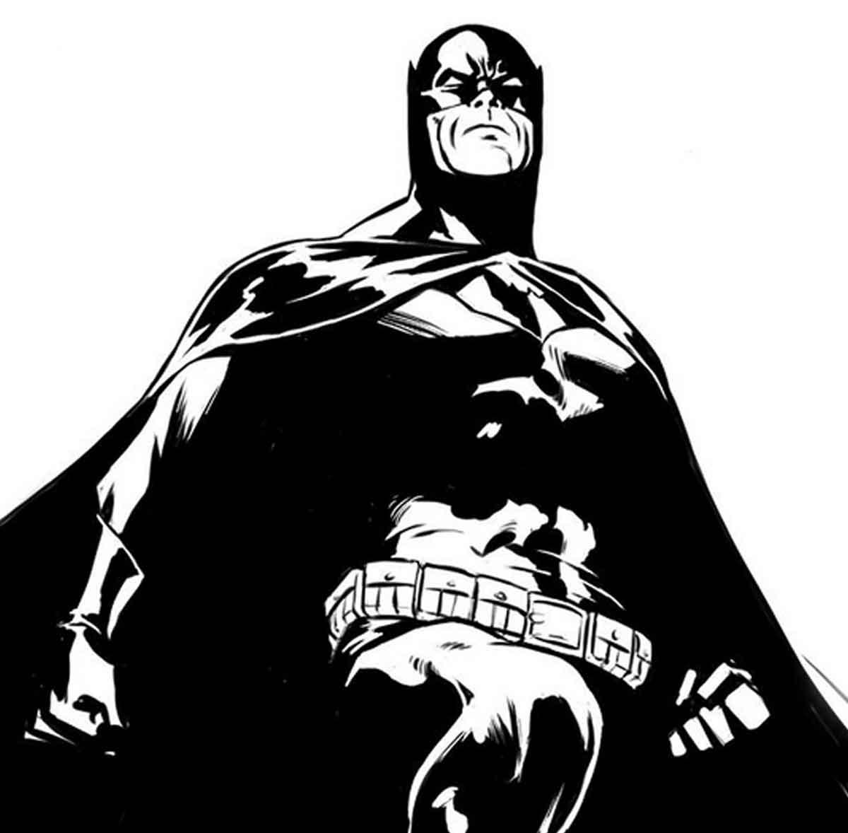 El jefe de Marvel comparte una espectacular imagen de Batman
