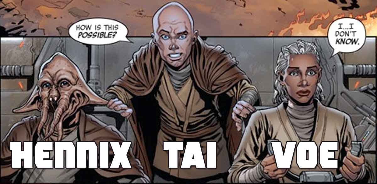 Star Wars muestra al primer Jedi que mató Kylo Ren