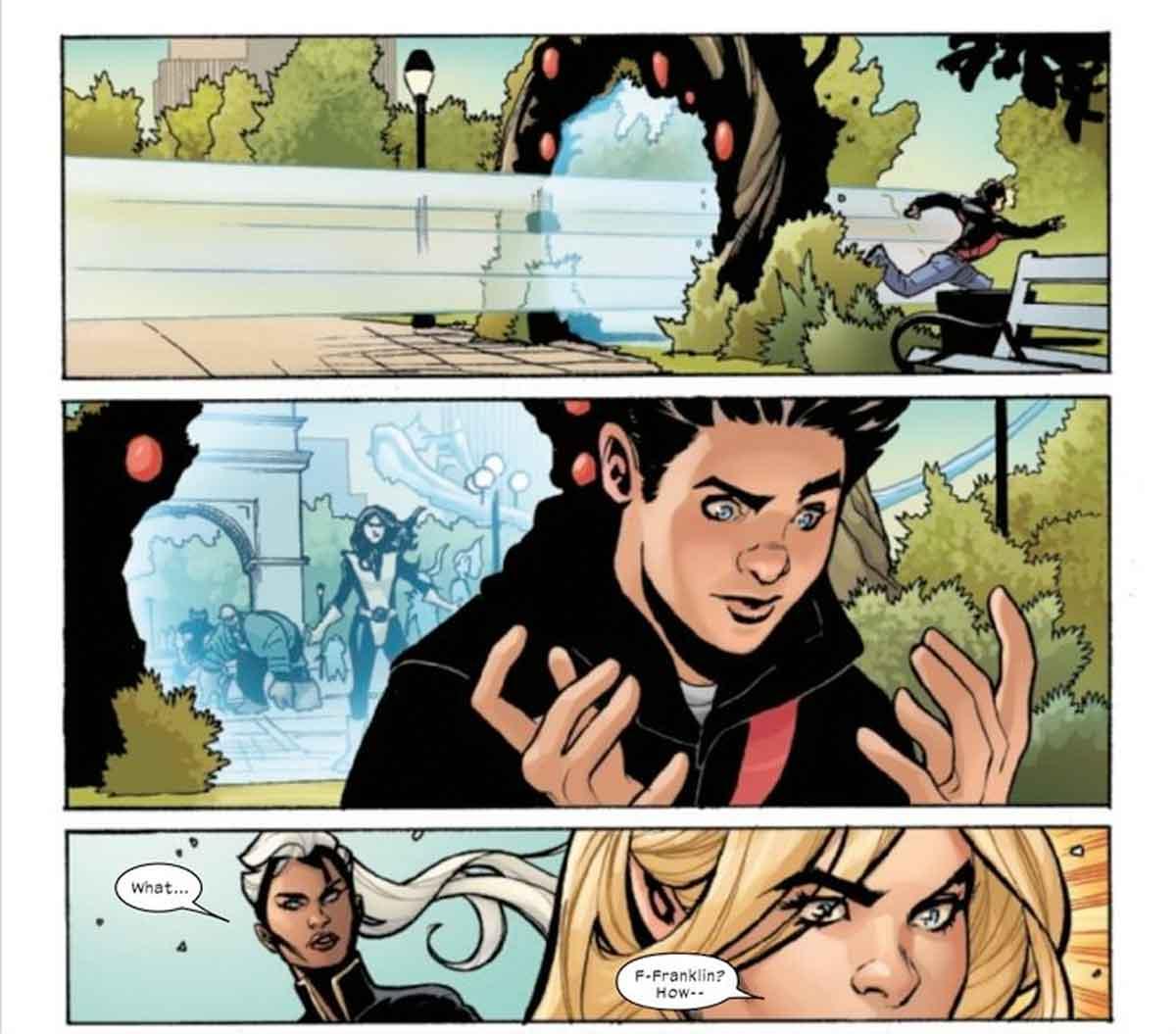Los Cuatro Fantásticos le declaran la guerra a los X-Men