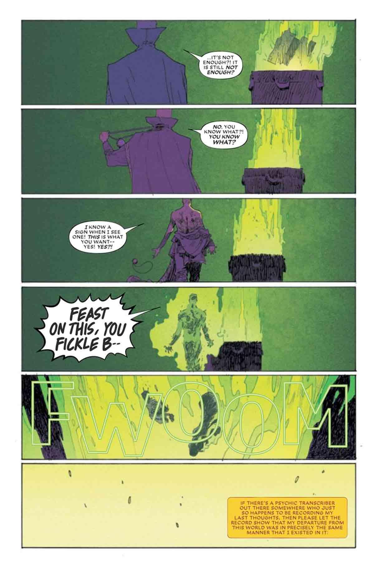 Marvel revela las muertes de Doctor Strange y Bruja Escarlata