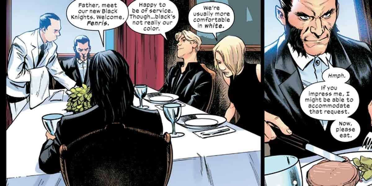 Los X-Men se alían con los Nazis