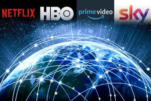 Así puedes ver el todo contenido mundial de Netflix, HBO, Amazon y Sky
