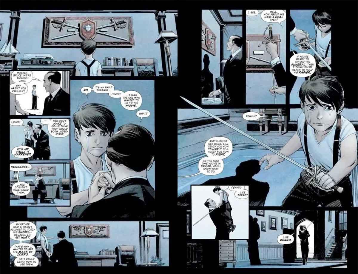 DC Comics revela que el origen de Batman es mucho más trágico