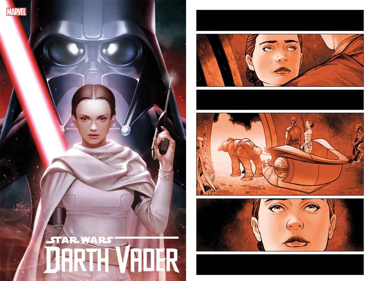 Star Wars revela como Padmé regresó para perseguir a Darth Vader