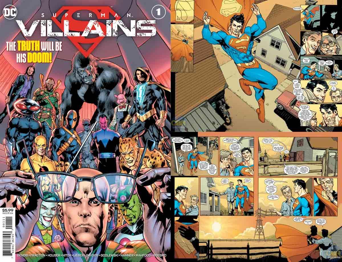 DC Comics revive dos personajes muy importantes para Superman
