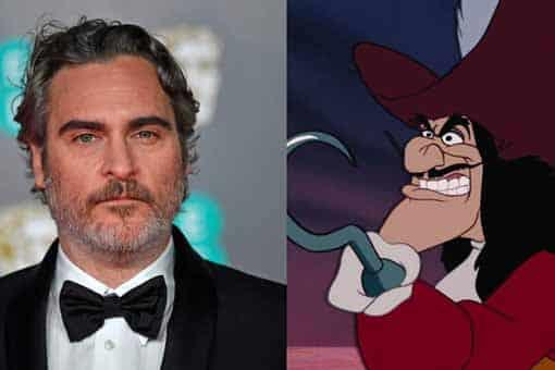Peter Pan y Wendy: Joaquin Phoenix podría interpretar al Capitán Garfio