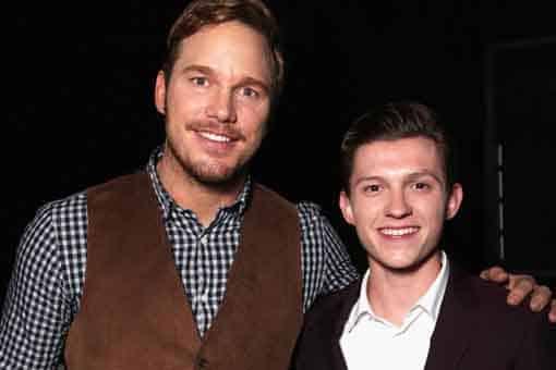 """Tom Holland: """"Chris Pratt me ayudó durante la crisis de Spider-Man"""""""