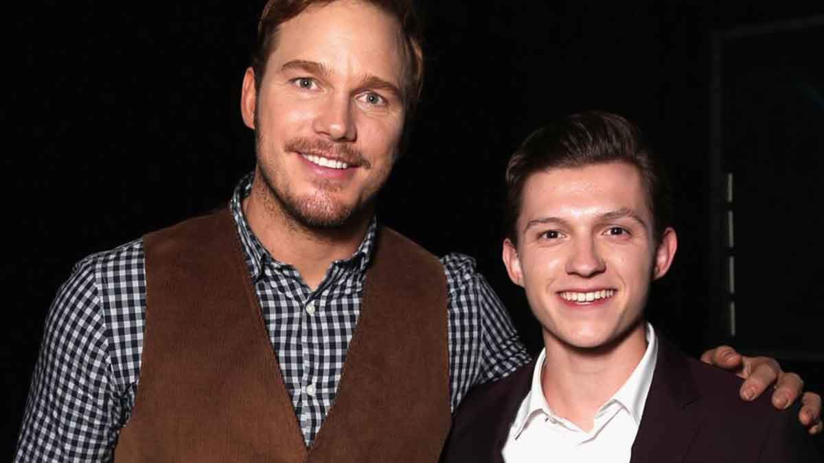 "Tom Holland: ""Chris Pratt me ayudó durante la crisis de Spider-Man"""