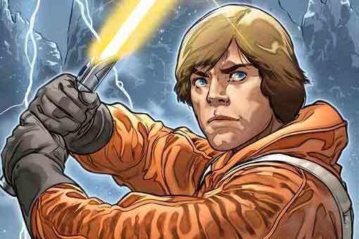 Star Wars le da a Luke Skywalker un nuevo y extraño sable de luz