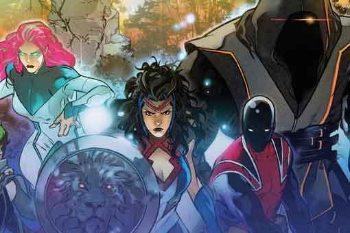 Marvel presenta un nuevo súper equipo de héroes del Reino Unido