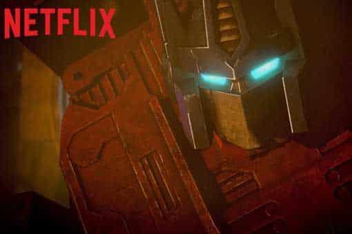 Transformers: La serie de anime de Netflix ya lanzó su trailer