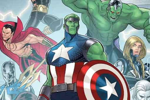 Los Vengadores cambian los poderes y las personalidades