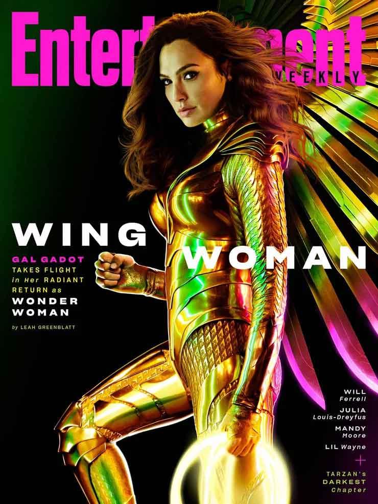 Wonder Woman 1984 muestra las alas de la armadura dorada