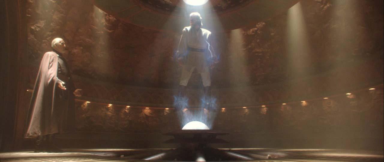 Star Wars: El ataque de los clones. Dooku Reveals The Existence Of Darth Sidious