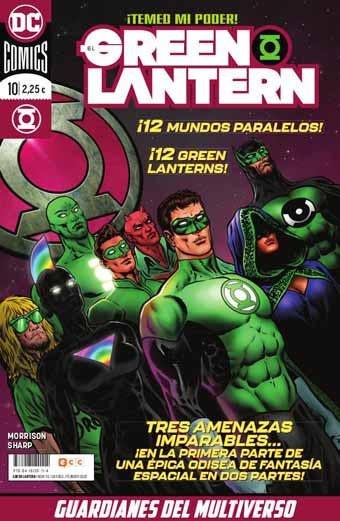 El Green Lantern Nº10 y 11