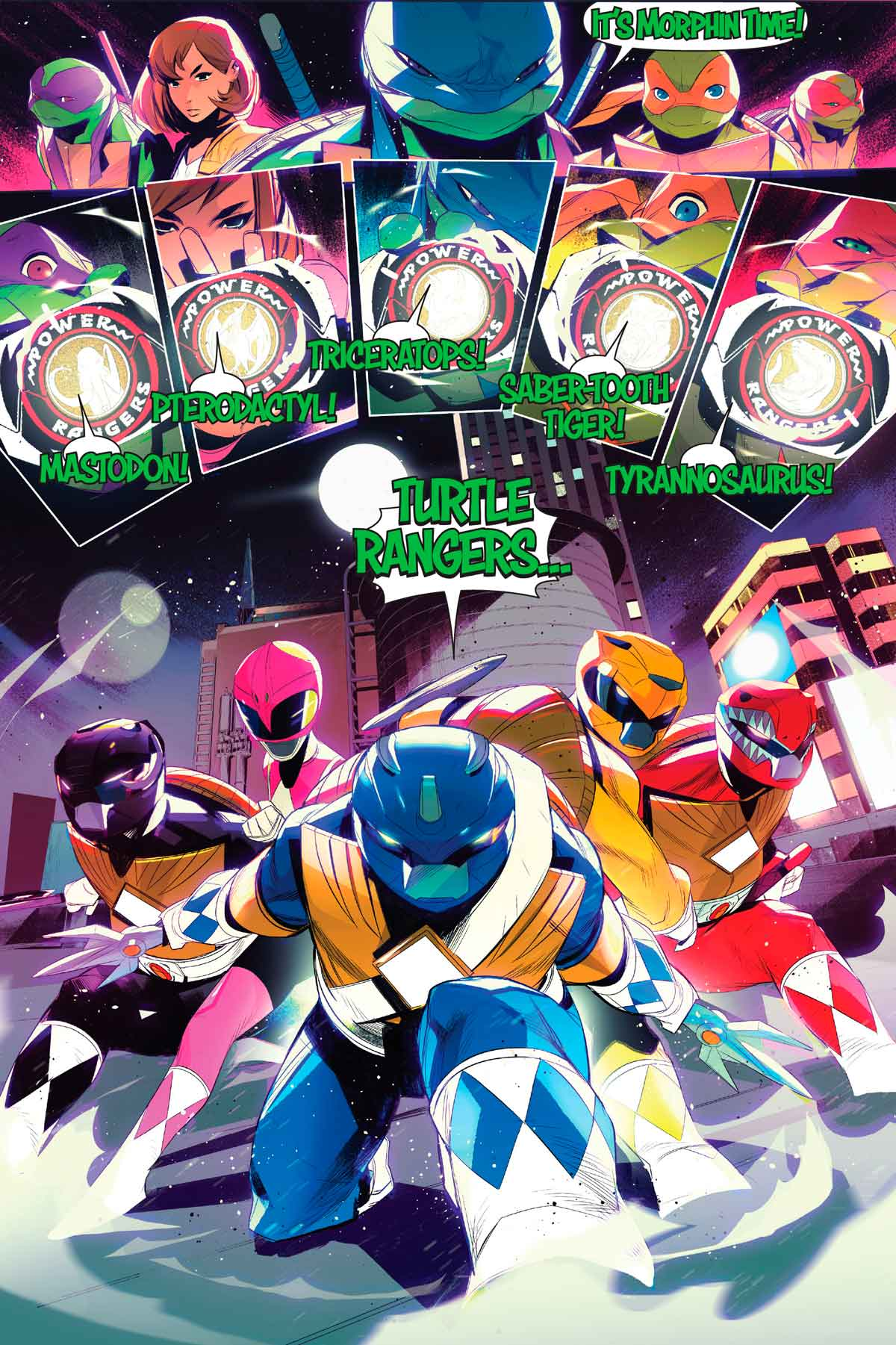 Mighty Morphin Power Rangers / Teenage Mutant Ninja Turtles Nº 4