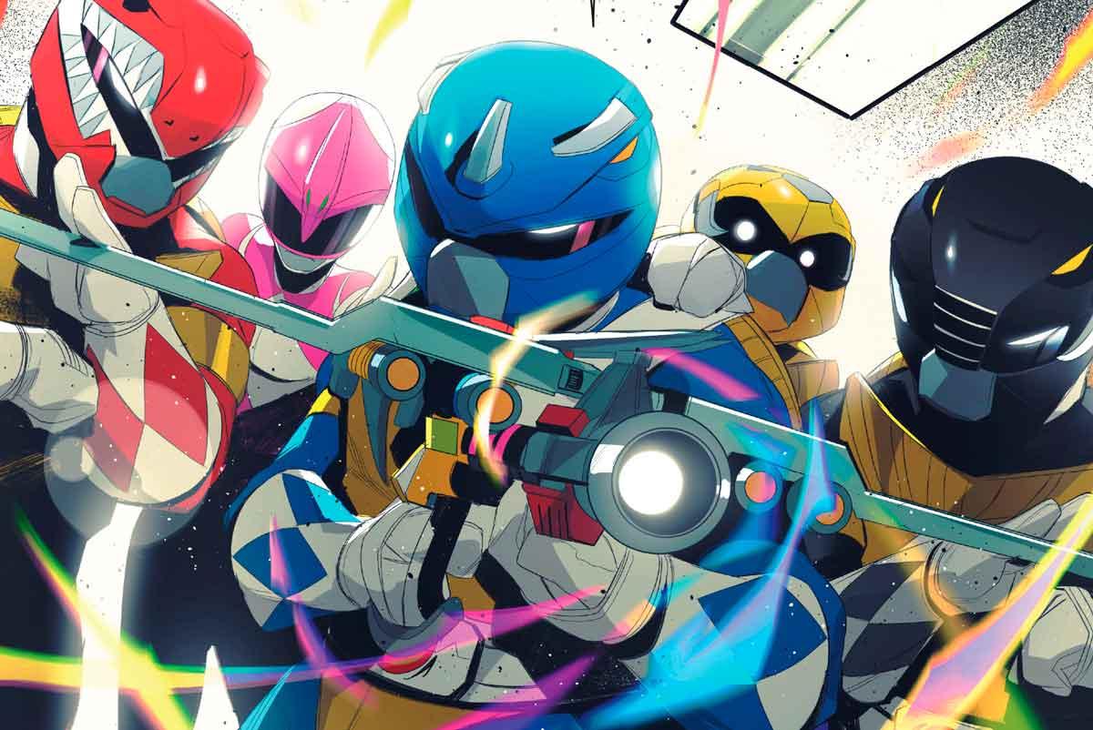 Mighty Morphin Power Rangers / Teenage Mutant Ninja Turtles
